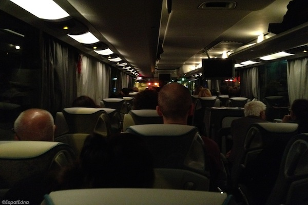 Night Rider Traveling From London To Paris By Bus Expat