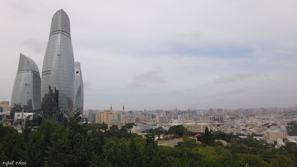 http://expatedna.com/wp-content/uploads/2012/11/Flame-Towers-over-Baku.jpg