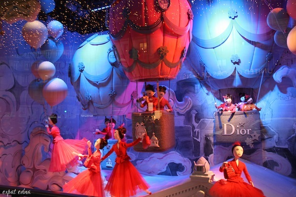 Christmas Window Displays In Paris The Good The Bad And