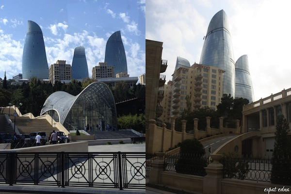 http://expatedna.com/wp-content/uploads/2012/12/Flame-Towers-looming-over-Baku.jpg