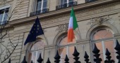 A night at the Irish Embassy in Paris
