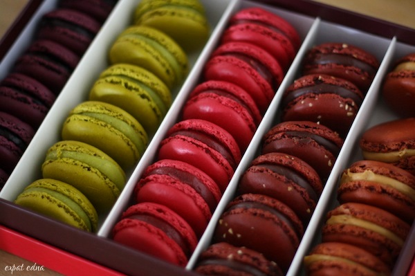 Carette macarons by Expat Edna