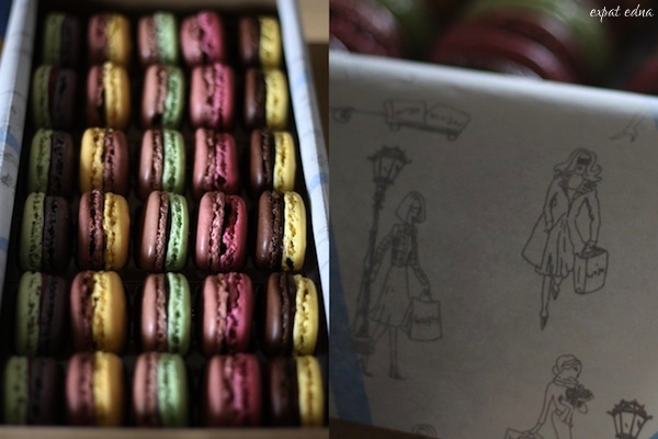 Jean Paul Hevin macarons by Expat Edna