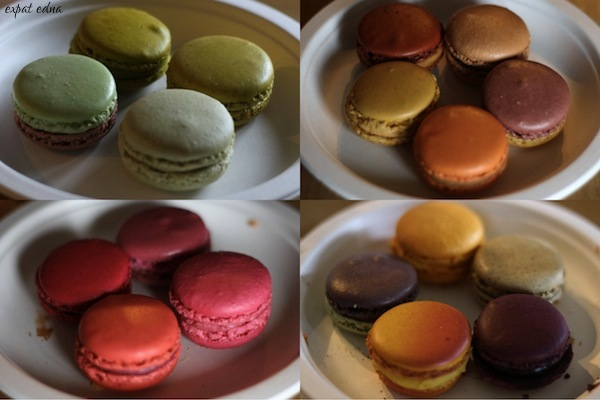 Macaron Smackdown rounds by Expat Edna