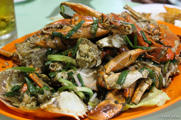 Black pepper crab, Singapore | Expat Edna