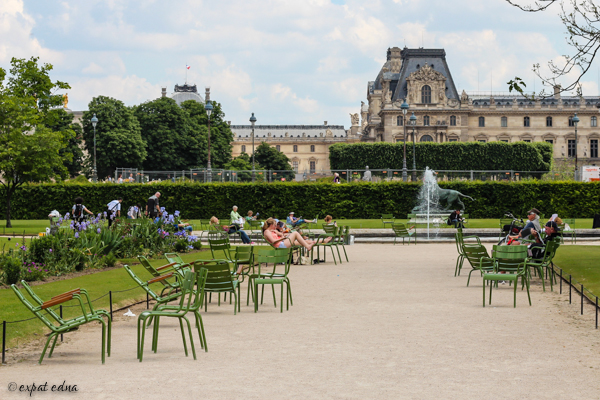 Tuileries Paris by Expat Edna