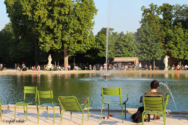 Tuileries chairs by Expat Edna