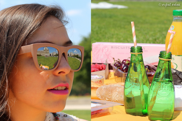Tuileries picnic with Ylenia by Expat Edna