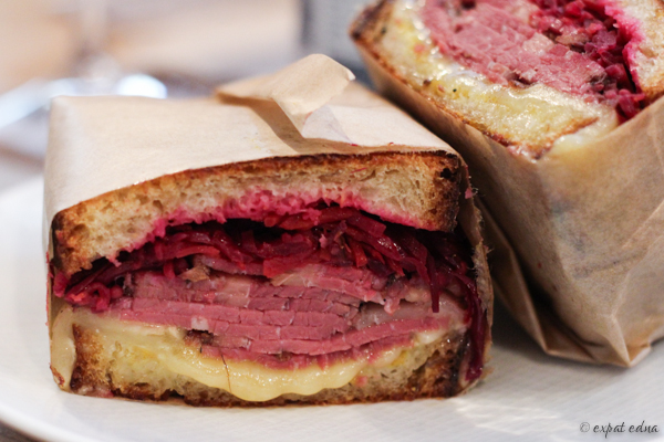 Reuben, Frenchie To Go, Paris by Expat Edna