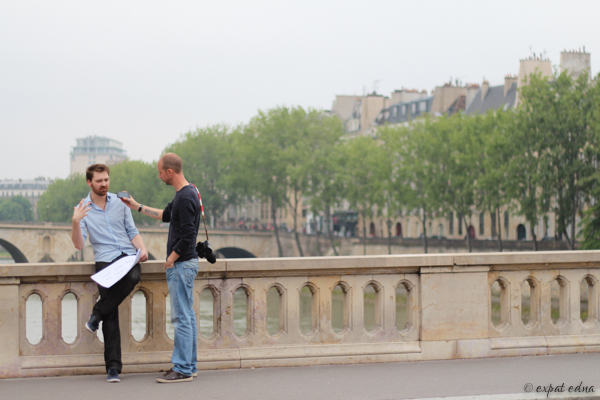 Alex and Mario in Paris by Expat Edna
