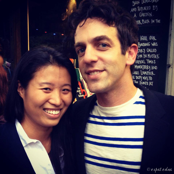 BJ Novak in Paris - Expat Edna