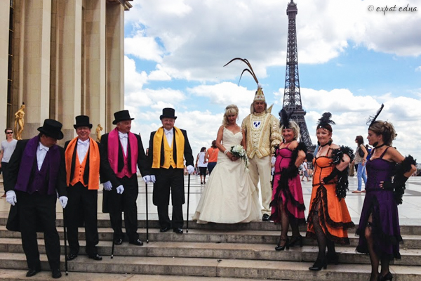Most colorful wedding in Paris - Expat Edna