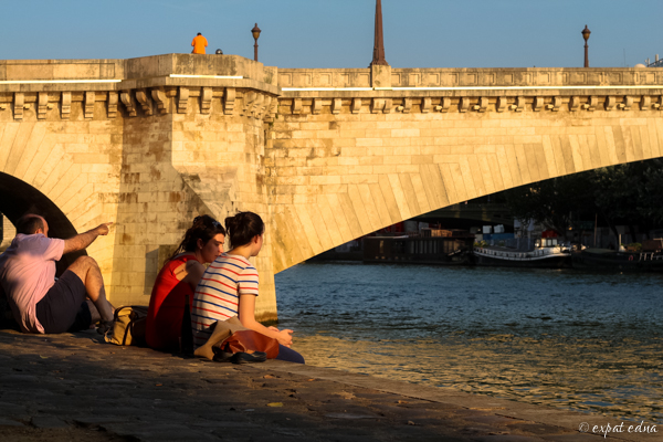 My favorite quai in Paris by Expat Edna