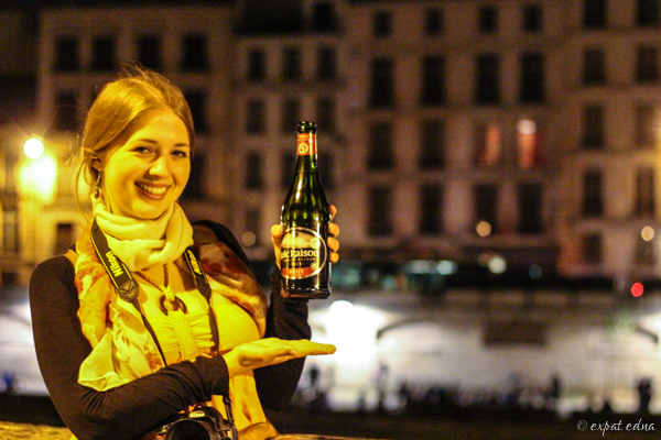 Seine and cider by Expat Edna