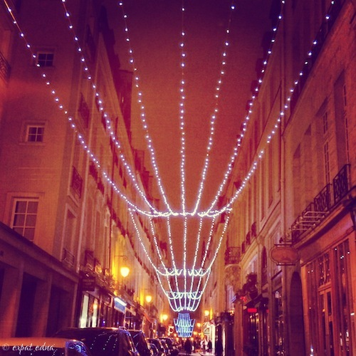 Ile St Louis, Paris at Christmas by Expat Edna