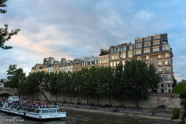 Along the Seine by Expat Edna