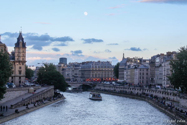 Banks of the Seine by Expat Edna