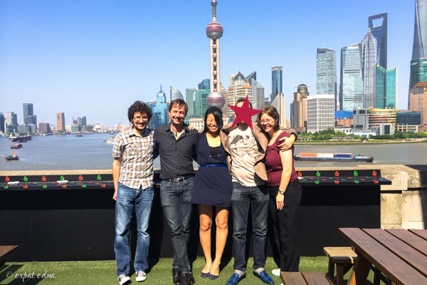Reunion on the Bund Shanghai - Expat Edna