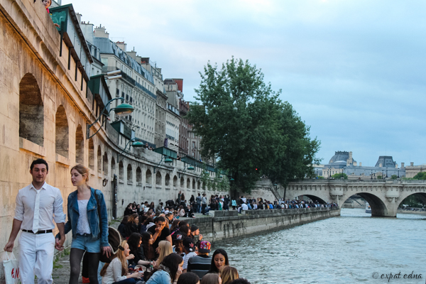 Seine strolling by Expat Edna