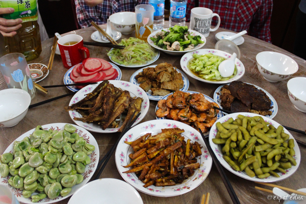 homecooked shanghainese feast by Expat Edna