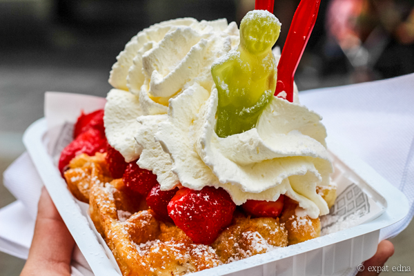 Waffles, Brussels, Belgium by Expat Edna