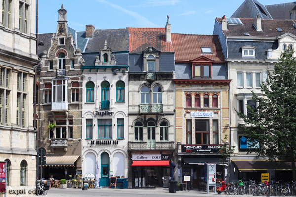 Buildings of Ghent by Expat Edna