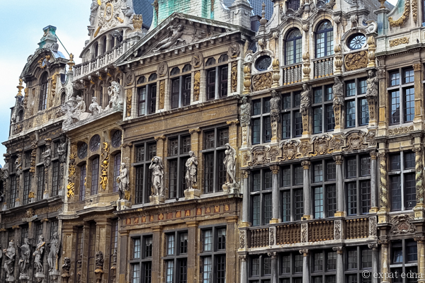 Architecture, Brussels by Expat Edna