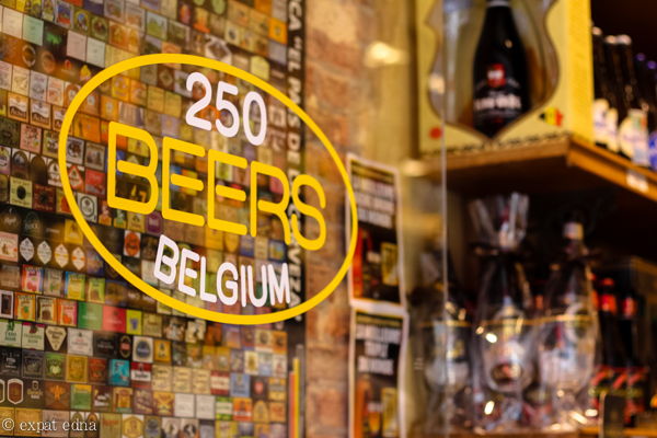 Beer shop, Brussels by Expat Edna