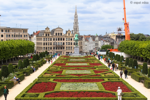 Gardens, Brussels by Expat Edna