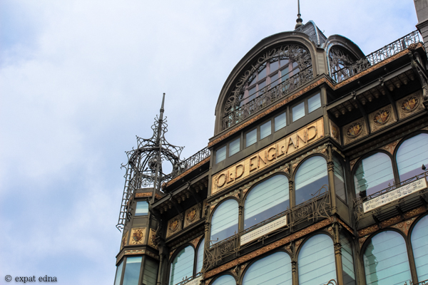 Old England building, Brussels by Expat Edna