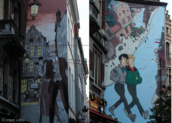 Street art, Brussels by Expat Edna