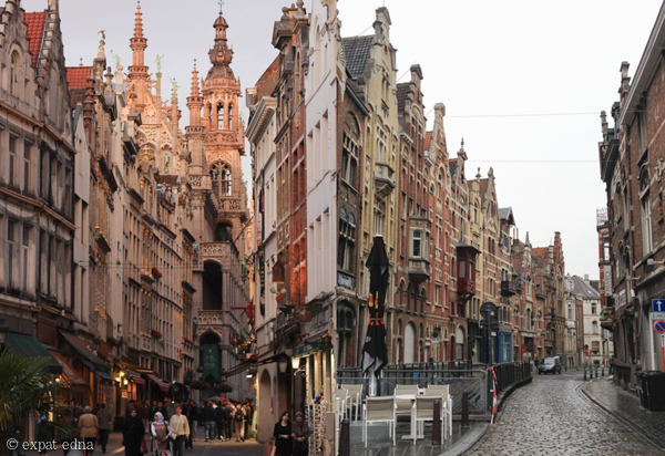 Streets of Brussels, Belgium by Expat Edna