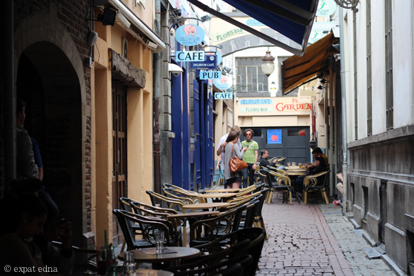 Delirium Tremens Alley, Brussels by Expat Edna