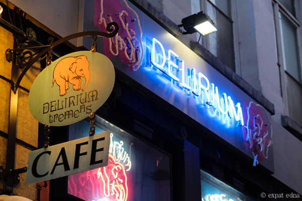 Delirium Tremens Cafe, Brussels by Expat Edna