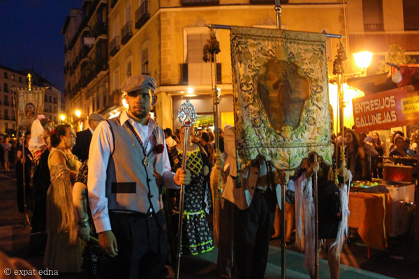 Assumption parade, Madrid by Expat Edna
