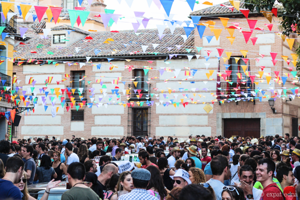 Assumption street festival Madrid by Expat Edna