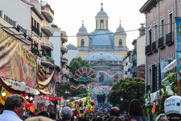 Assumption street festival, Madrid by Expat Edna