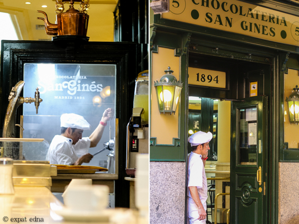 Chocolateria San Gines Madrid by Expat Edna