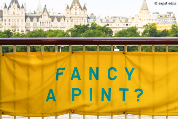 Fancy a pint? London by Expat Edna