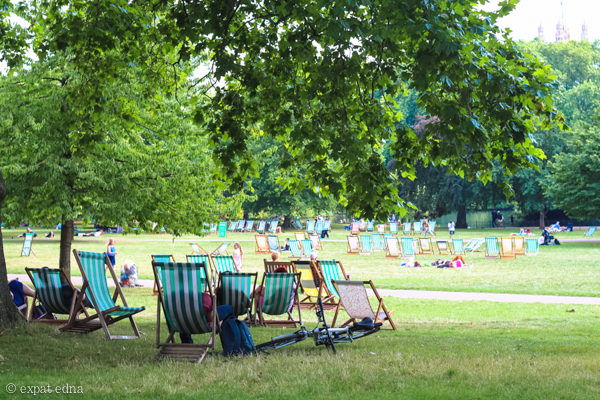 Hyde Park, London by Expat Edna