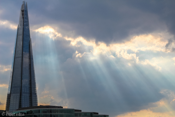 Light breaking, London by Expat Edna