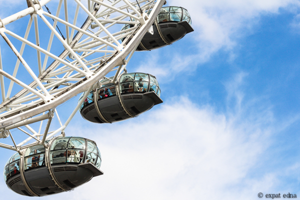 London Eye by Expat Edna