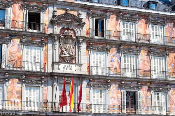 Plaza Mayor, Madrid by Expat Edna