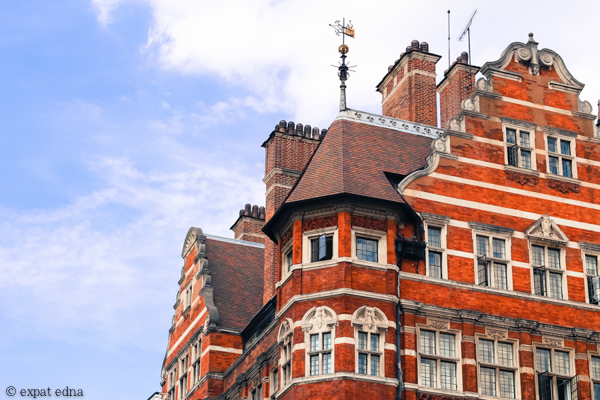 Red brick, London by Expat Edna