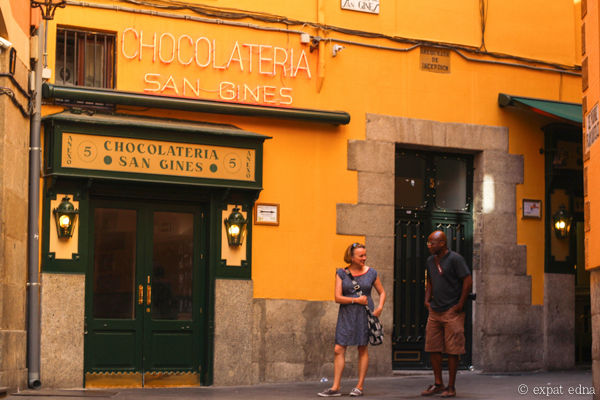 San Gines Chocolateria Madrid by Expat Edna
