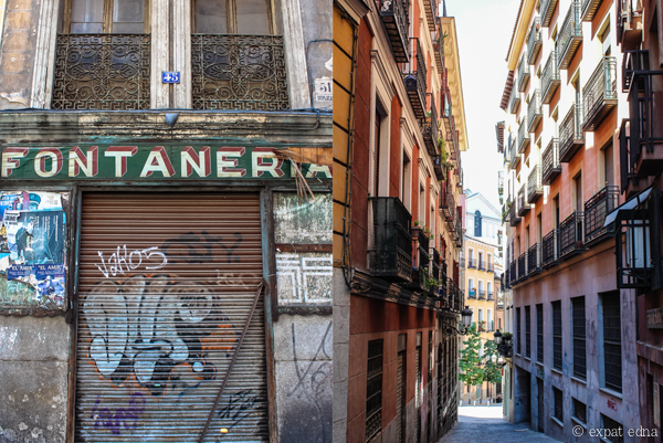 Streets of Madrid by Expat Edna