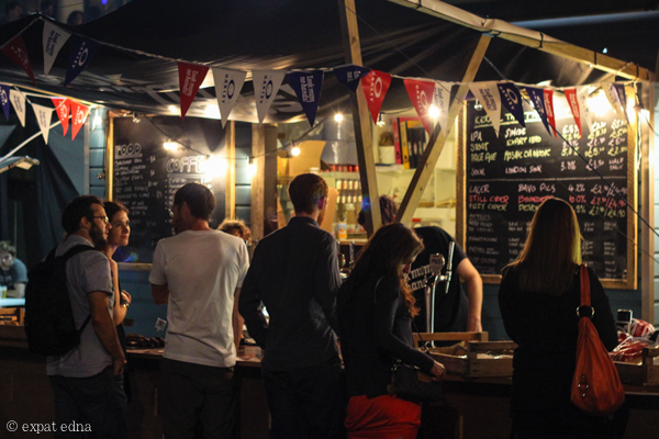 Summer taps, London by Expat Edna