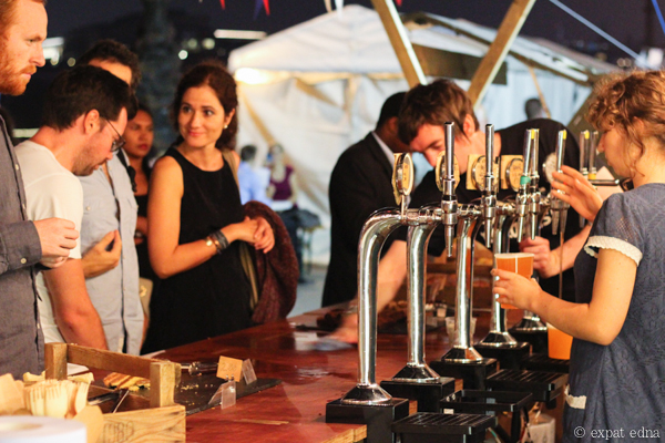 Summer taps in London by Expat Edna