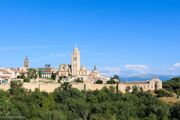Town of Segovia by Expat Edna