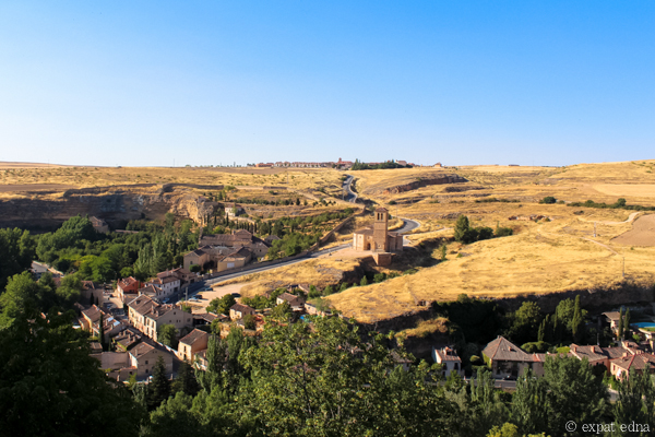 View from the castle, Segovia by Expat Edna